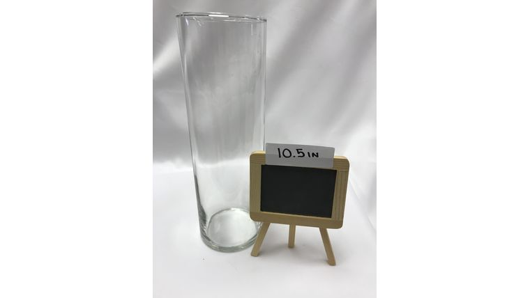 Picture of a 10.5 inch Glass Cylinder