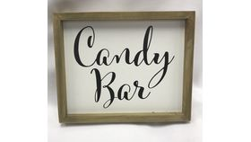 Image of a Candy Bar Sign