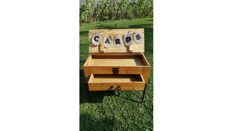 """Picture of a """"Cards"""" Coffee Table"""