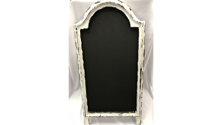 Picture of a Rustic White Chalkboard (H)