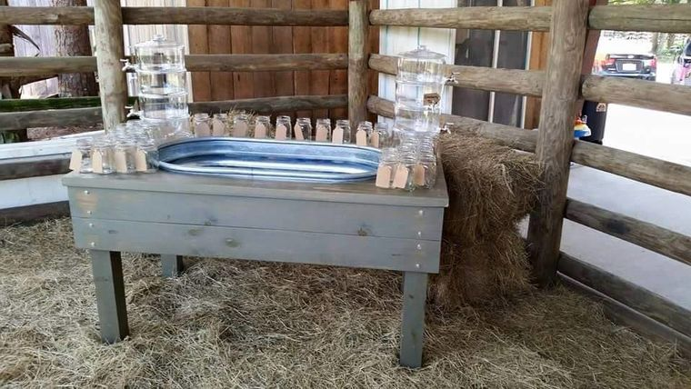 Picture of a Beverage Trough