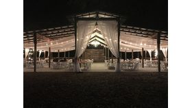 Image of a Barn Entrance Draping