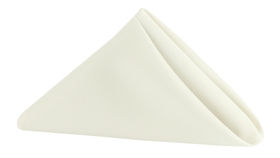 Image of a Polyester Napkin - Ivory