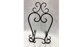 Image of a Table Easel - Black Iron