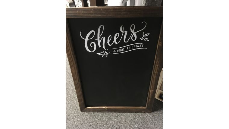 Picture of a Signature Drink Chalkboard (G)