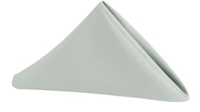 Image of a Polyester Napkin - Grey