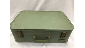 Image of a Vintage Suitcase - Green