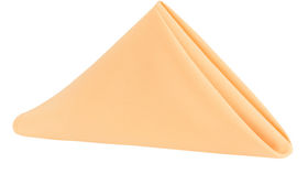 Image of a Polyester Napkin - Peach
