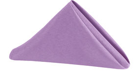 Image of a Polyester Napkin - Lavender
