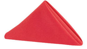 Image of a Polyester Napkin - Red