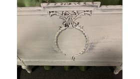 Image of a Antique Footboard