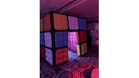 Image of a Rubik's Cube Photo Booth