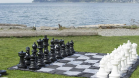 Image of a Giant Chess/Checkers