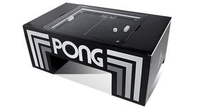Image of a Atari Pong Cocktail Game