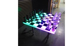 Image of a LED Chess/Checkers