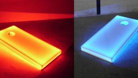 Image of a LED Cornhole