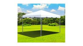 Image of a 10 X 10 White Top Frame Tent