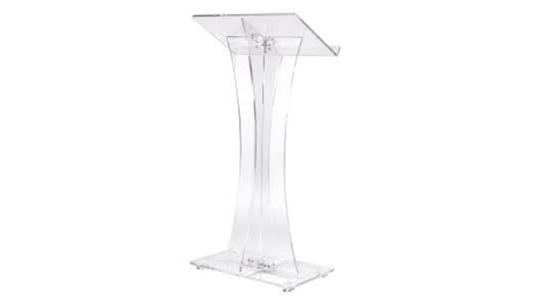 Picture of a Acrylic Podium