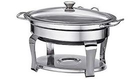 Image of a 4 Qt Glass Top Chafing Dish