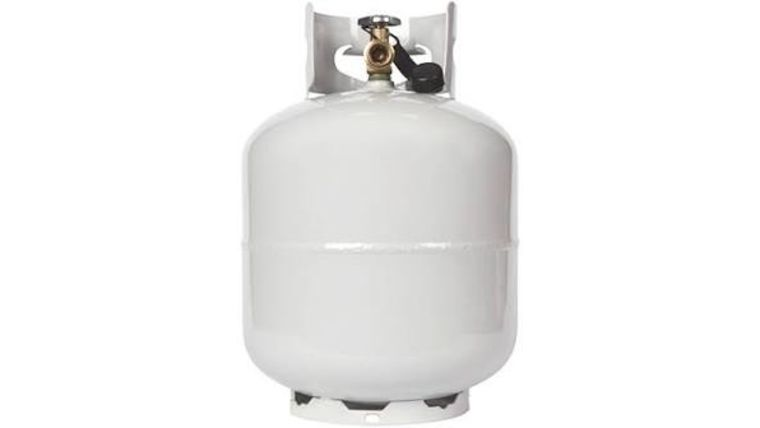 Picture of a 20Ibs Propane Tank