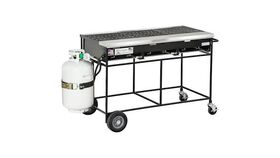 "Image of a 54"" Gas Propane BBQ Grill"