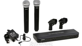 Image of a Shure BLX288/PG58 Dual Wireless Handheld