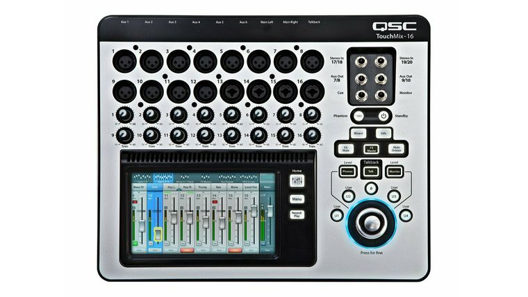 Picture of a 16 Ch Digital Mixer w/ Effects