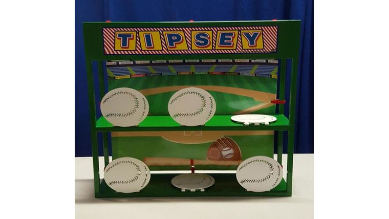 Picture of a Baseball Tipsey
