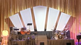 Image of a Backdrop-Art Deco Fanfare Stage