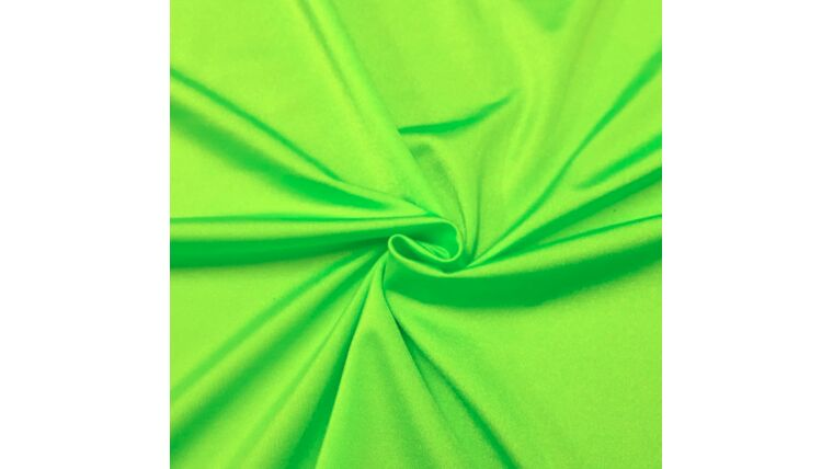 Picture of a 3pt Lime Spandex Fabric Panel