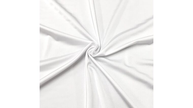 Picture of a 3pt White Spandex Fabric Panel