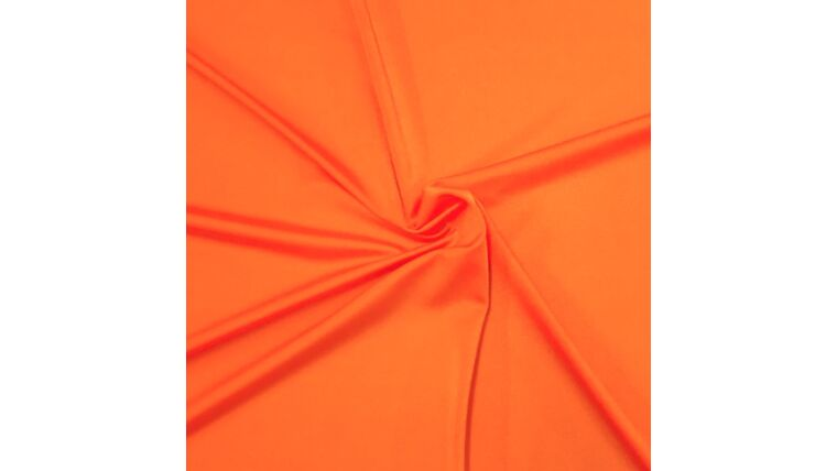 Picture of a 4pt Tangerine Spandex Fabric Panel