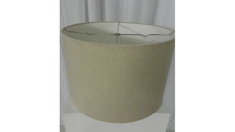Picture of a Lampshade-Canvas Round
