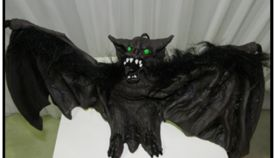 Image of a Bat- Brown Demon-Rubber