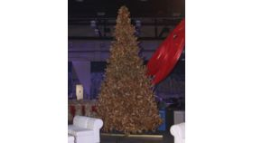 Image of a Christmas Tree-Gold