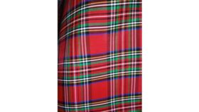 Image of a Table Runner-Christmas Plaid