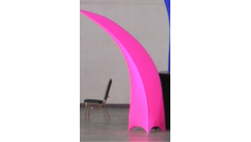 Arching Point-Spandex Cover-Hot Pink image