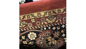 Image of a Rug-Oriental-Red & Tan-11''x8'