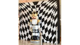 Image of a Billet-Harlequin w/ Glitter