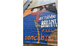 Image of a Backdrop-Aristide Bruant dans soncabaret