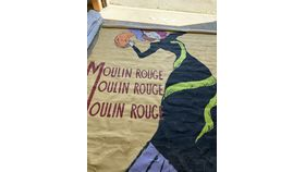 Image of a Backdrop-Moulin Rouge
