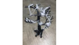 Image of a Centerpiece-Trees-Black Glitter