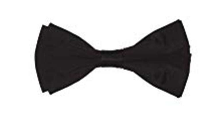Picture of a Black Bow Tie
