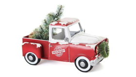 Image of a Centerpiece-Holiday Vintage Truck