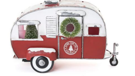 Image of a Centerpiece-Holiday Vintage Camper