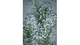 Image of a Vase Filler-Flocked Garland Picks