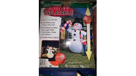 Image of a Inflatable-Snowman