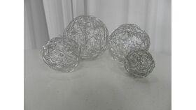 Image of a Vase Filler-Wire Spheres-Tub