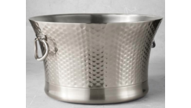 Image of a Beverage Tub-Silver Hammered