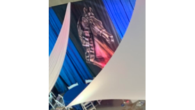 Image of a Morgan Horse Owned-Cantina Banners